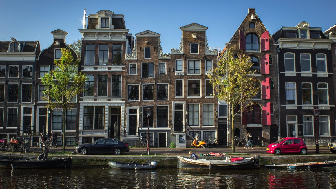 show Amsterdam in spring